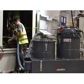 INDUSTRIAL VACUUM CLEANERS FOR RECOVER AND SEPARATION OF OIL AND SWARF