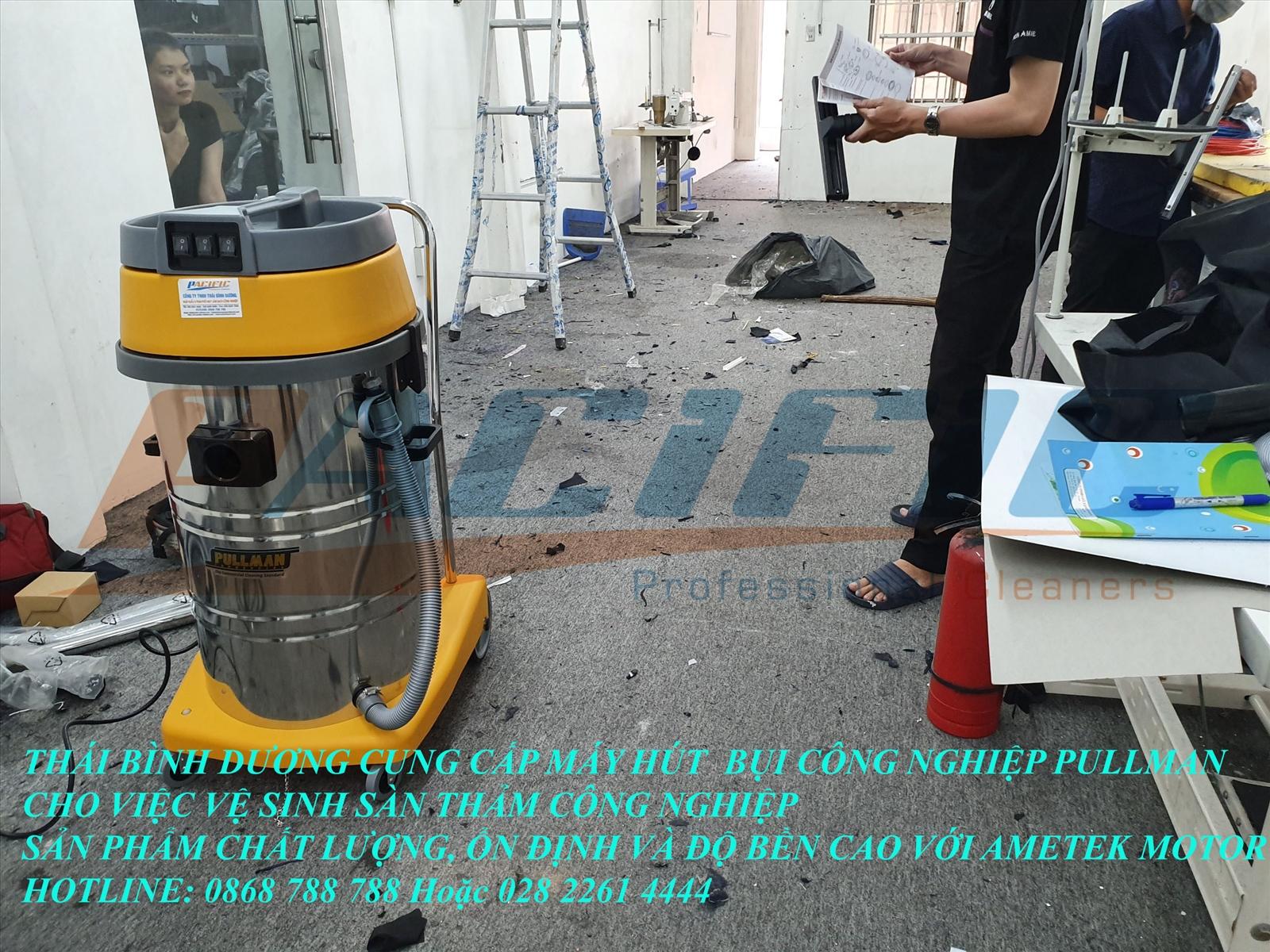 máy hút bụi công nghiệp pullman pma803